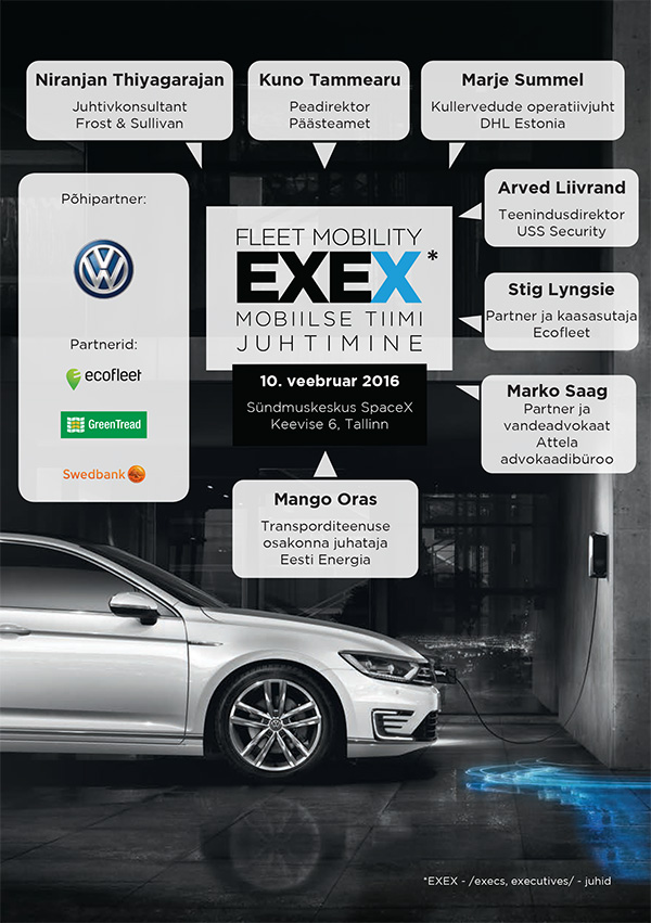 Fleet Mobility EXEX 2016 raamat