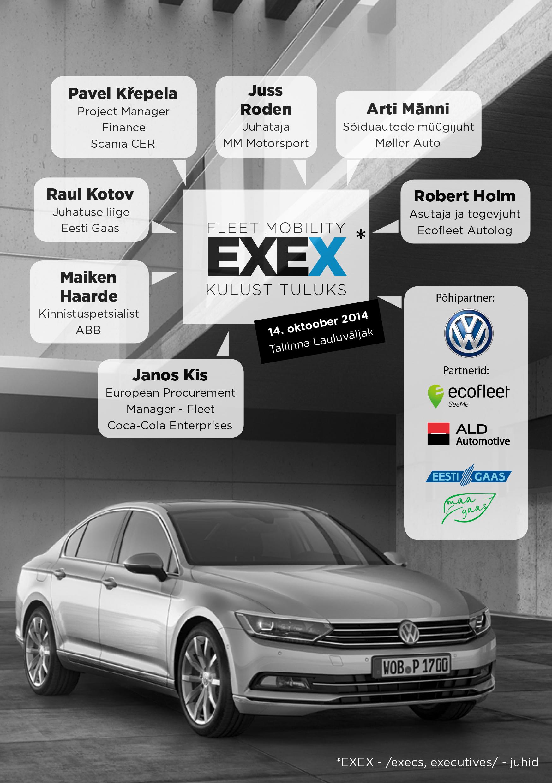 Fleet Mobility EXEX 2014 raamat