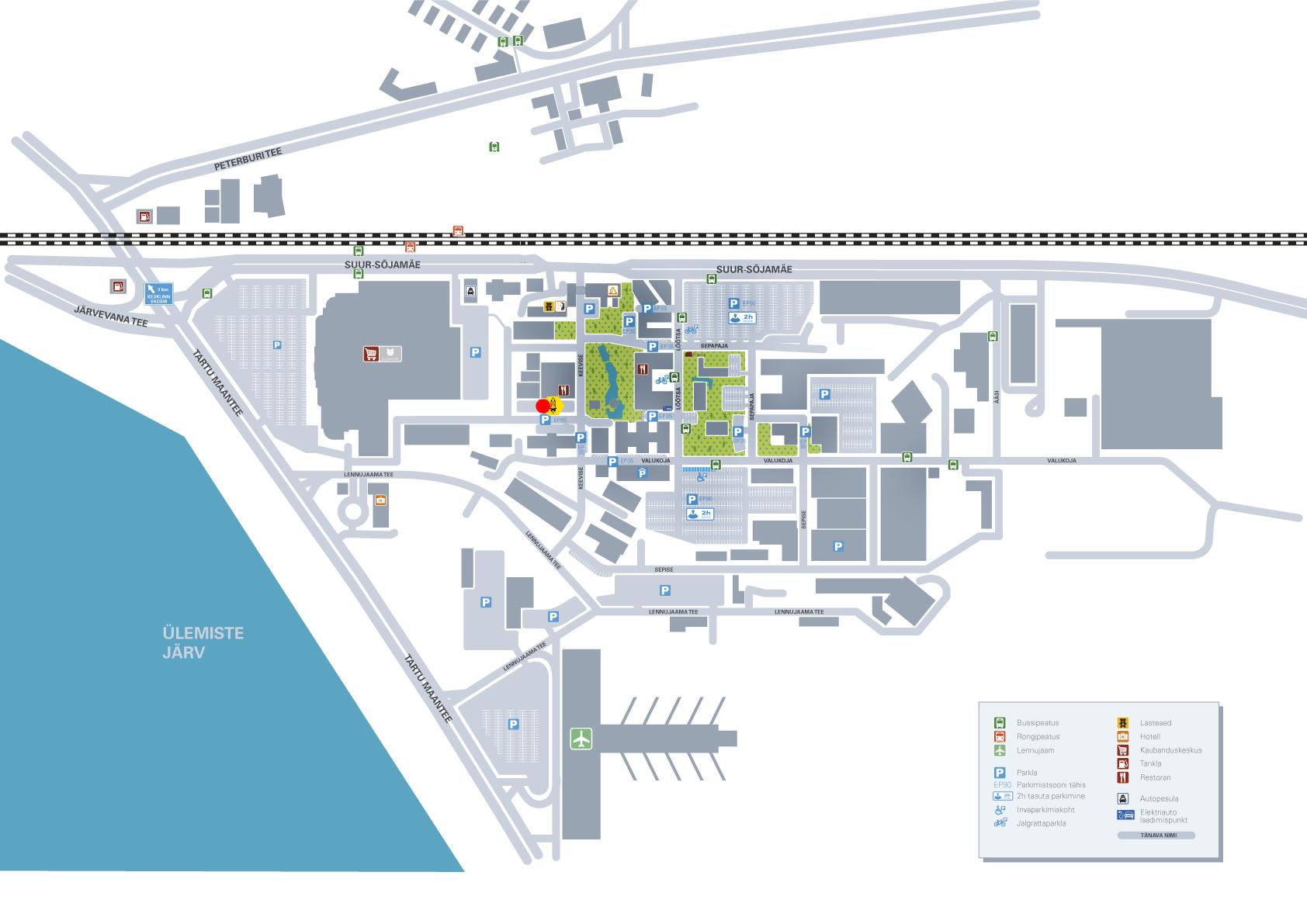 SpaceX asukoha kaart