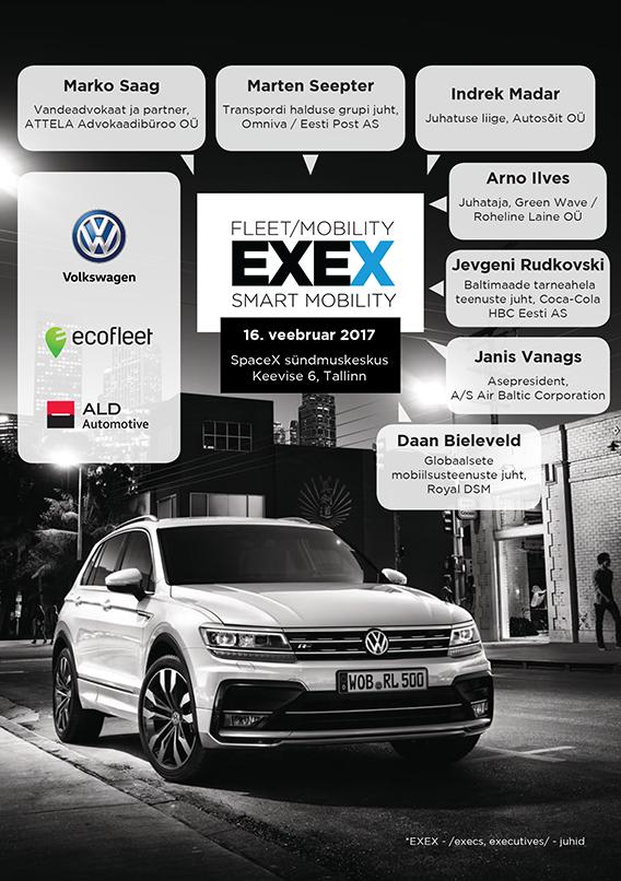 Fleet Mobility EXEX 2017 raamat