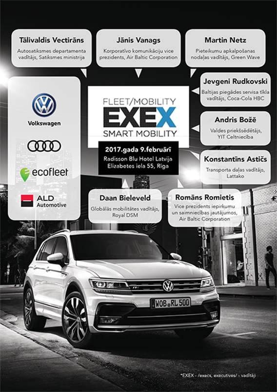 EXEX Fleet Mobility 2016 Grāmata