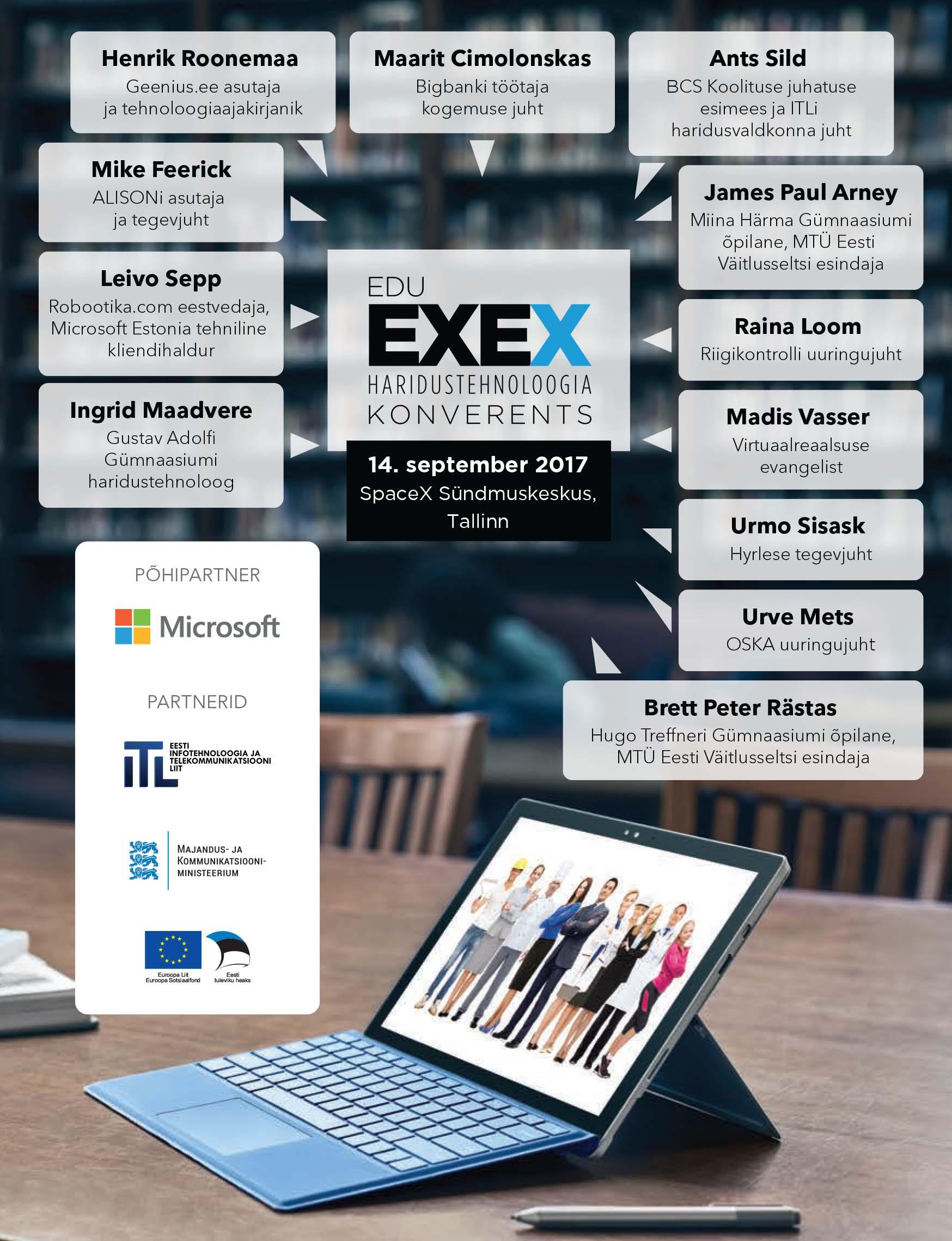 Haridustehnoloogia konverents Edu EXEX 2017 raamat