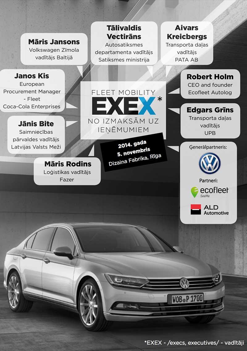 EXEX Fleet Mobility 2014 Grāmata