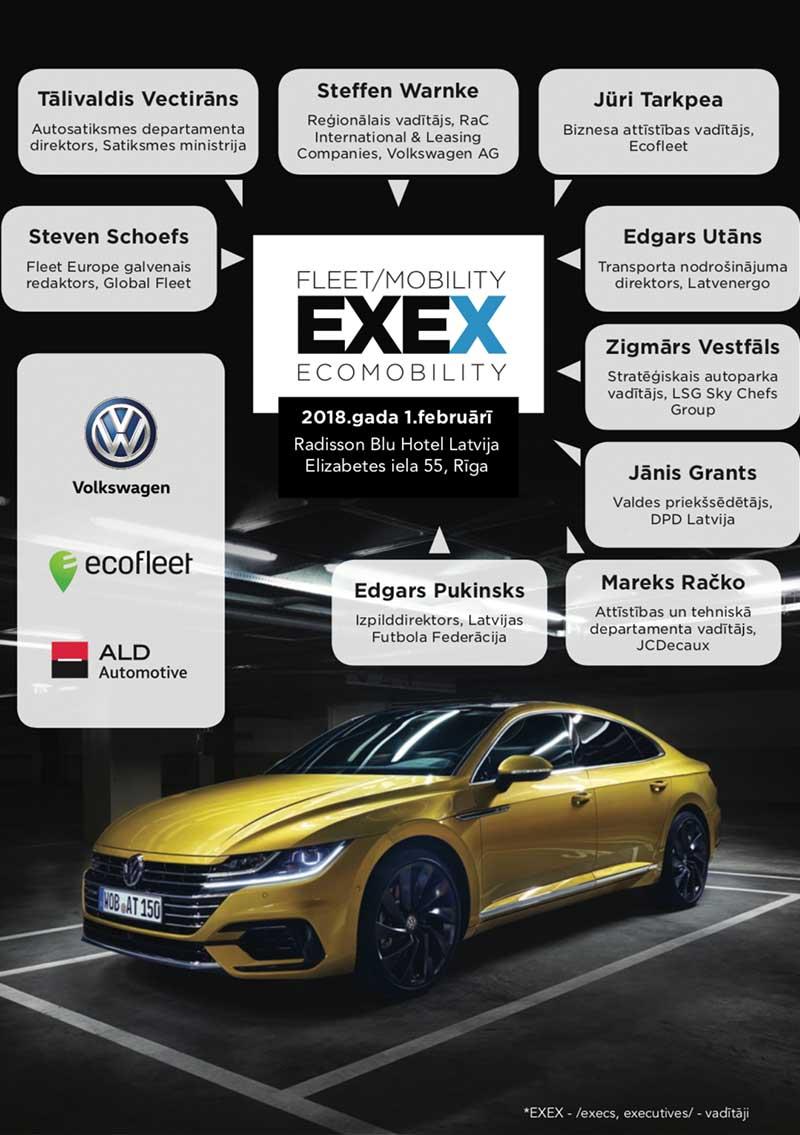Fleet Mobility EXEX 2018 Grāmata