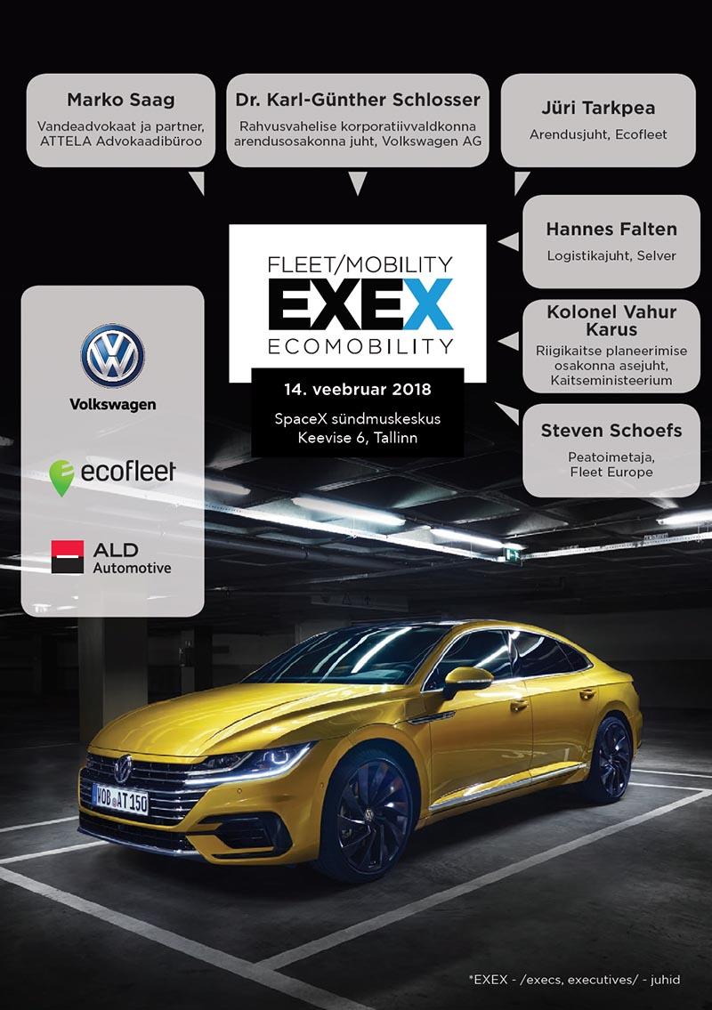 Fleet Mobility EXEX 2018 raamat