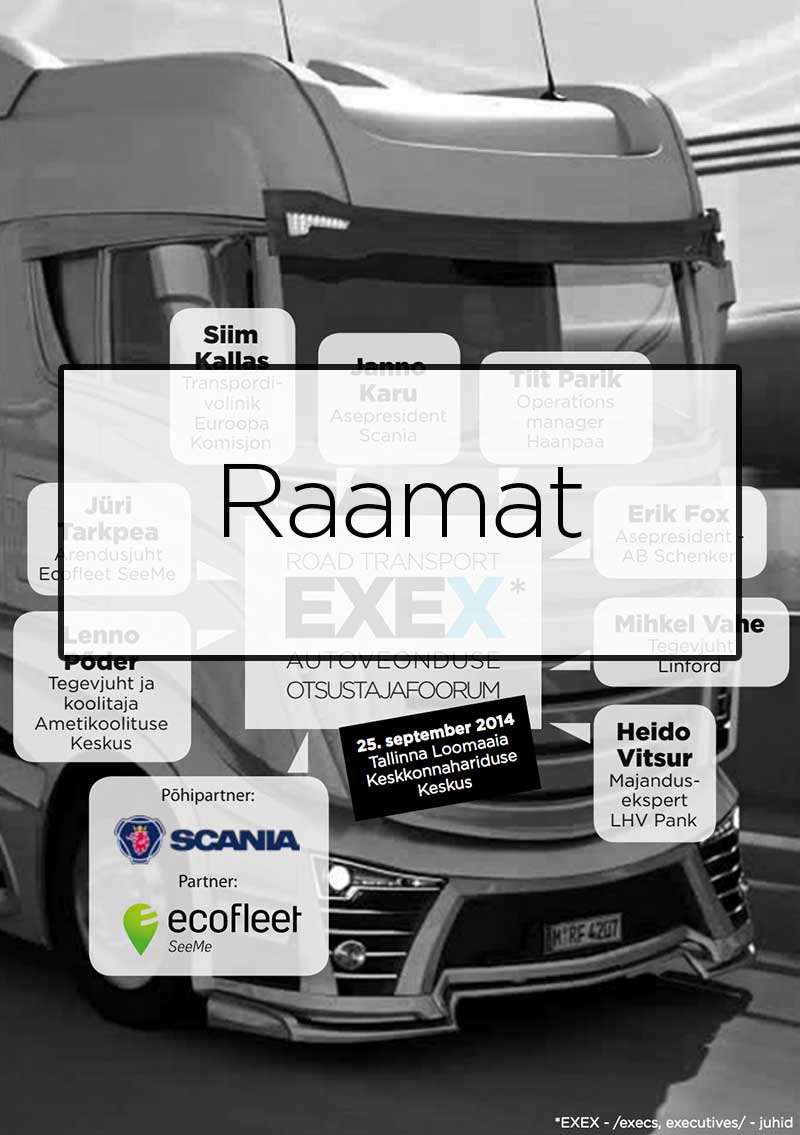 Road Transport EXEX 2014 raamat