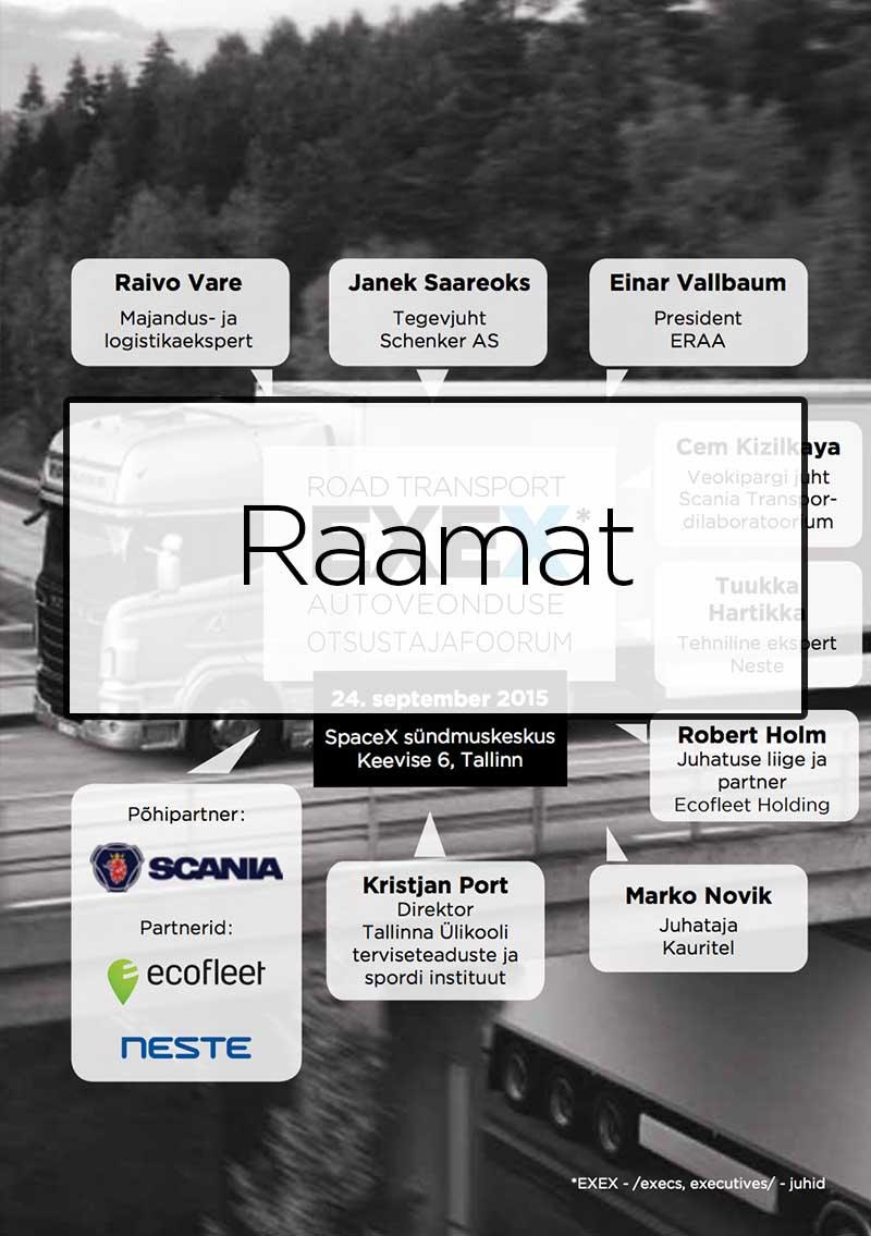 Road Transport EXEX 2015 raamat