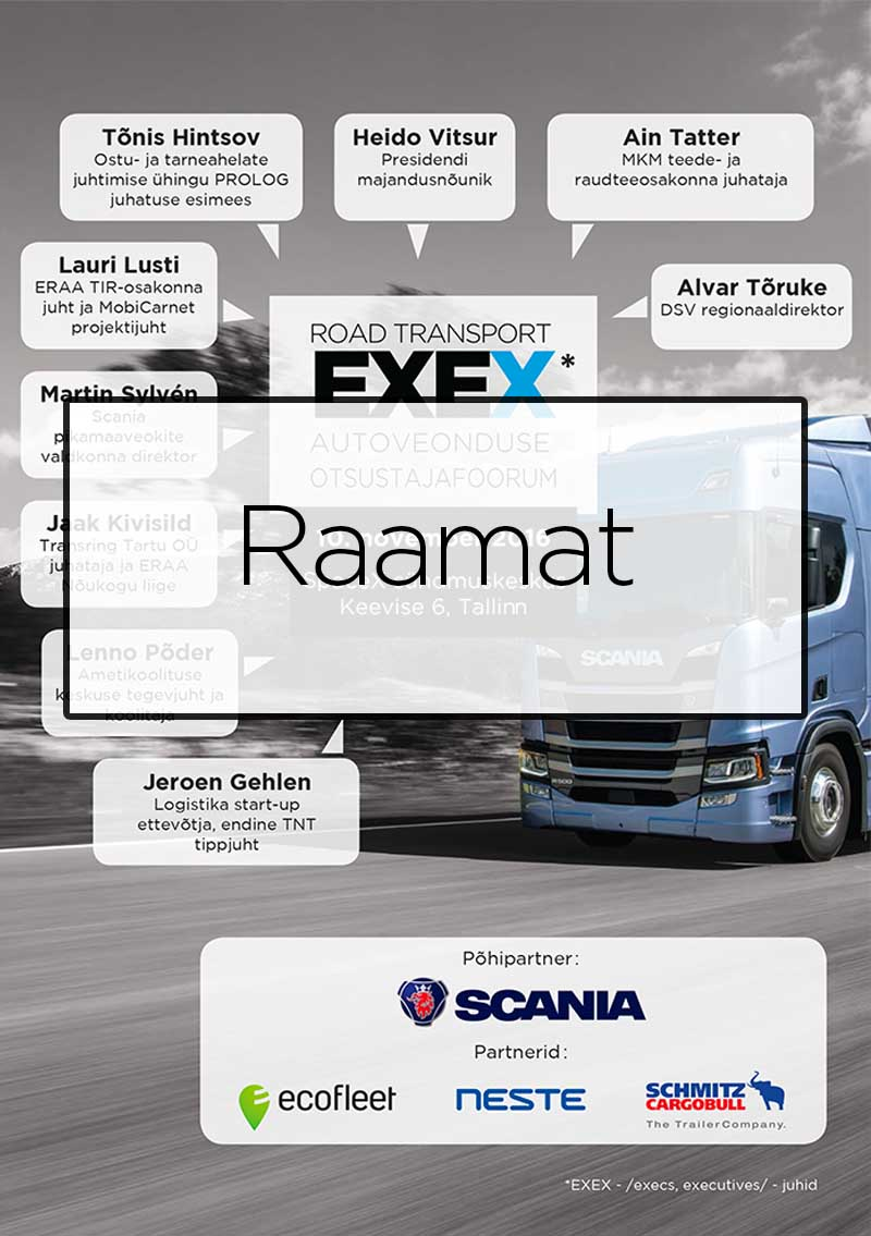 Road Transport EXEX 2016 raamat