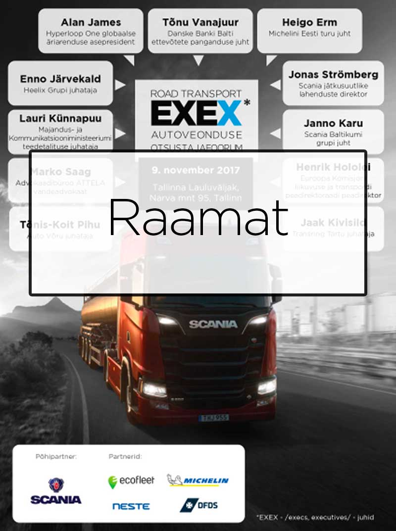 Road Transport EXEX 2017 raamat