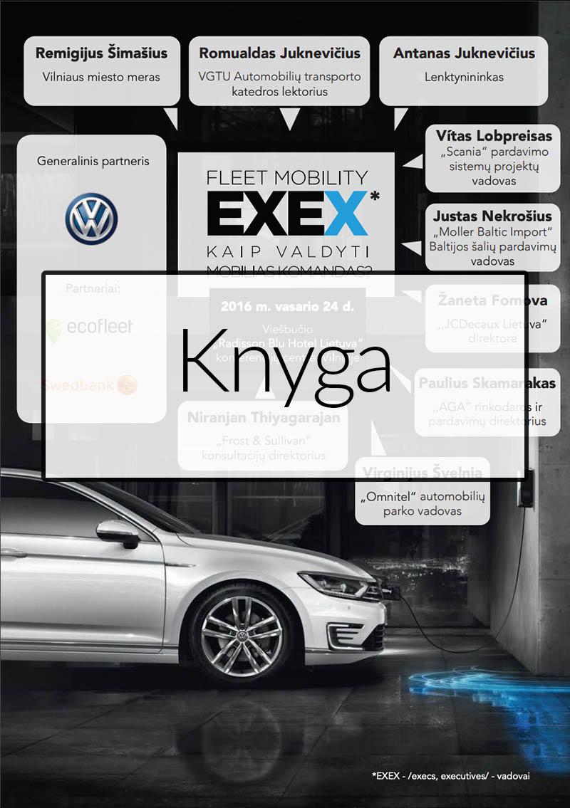 EXEX Fleet 2016 Forum Knyga